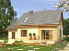 DOM.PL™ - Projekt domu KR Elegant CE - DOM KR3-02 - gotowy projekt domu