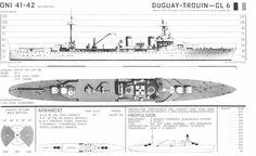Duguay Trouin class Light Cruiser