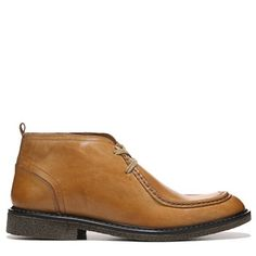 GBX Men's Brant Moc Toe Chukka Boots (Luggage Leather)