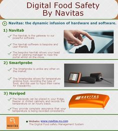 Digital food safety by Navitas Safety Management System, Food Safety, Catering, Digital, Catering Business, Food Security