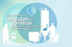Te invitamos a descubrir y construir a través e los datos públicos del Gobierno Vasco