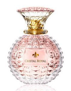 Cristal Royal Rose Princesse Marina De Bourbon for women (2017)... Cristal Royal Rose by Princesse Marina De Bourbon is a Floral Fruity fragrance for women. Top notes are lemon, pear and rose; middle notes are freesia, violet and peach; base notes are ambroxan, musk and cedar. WANT!!!
