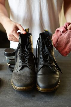 Urban Outfitters - Blog - UO DIY: Boot Care