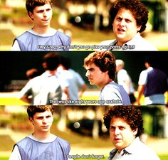 Jonah Hill and Dave Franco in Superbad, pre-21 Jump Street!