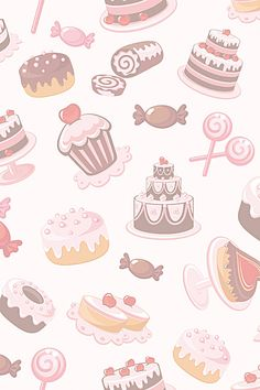 Food Background Wallpapers, Cake Background, Food Backgrounds, Cute Wallpaper Backgrounds, Baking Wallpaper, Food Wallpaper, Kawaii Wallpaper, Cupcakes Wallpaper, Cupcake Logo