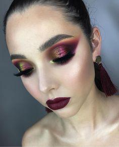 Punk Makeup, Crazy Makeup, Blue Makeup, Girls Makeup, Makeup Geek, Makeup Inspo, Makeup Art, Beauty Makeup, Hair Makeup