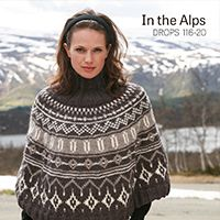 Ponchos & Shawls - Free knitting patterns and crochet patterns by DROPS Design Surf Poncho, Poncho Pullover, Cardigan, Drops Design, Knitted Poncho, Knitted Shawls, Cozy Knit, Fair Isle Knitting, Free Knitting