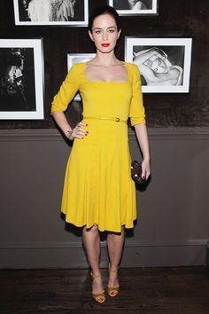 inspiration for my yellow zara dress