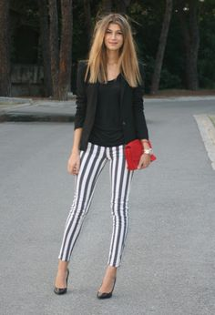 34 Popular Black And White Street Style Combinations
