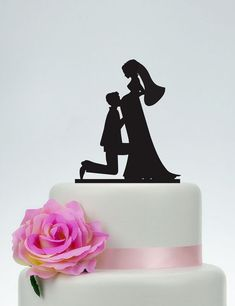 Pregnant wedding cake topperBride and Groom by SpecialDesignForYou