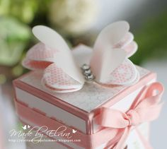 Simplement Papillon Spitzenschmetterling aus dem Set Schmetterlingsgruß - Butterfly Basics