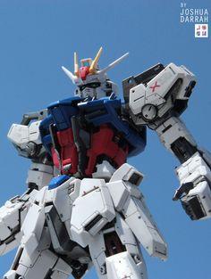 GUNDAM GUY: MG 1/100 Aile Strike Gundam Ver. RM - Customized Build
