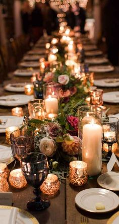 Whimsical, vineyard-inspired tablescape in barn, Mustard Seed Gardens The Wedding Story of Chas and Cari Carter | WeddingDay Magazine