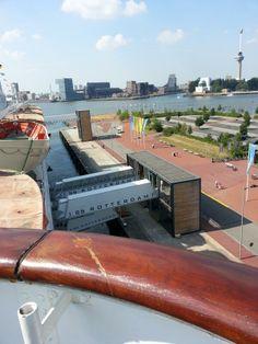 View to Euromast Rotterdam from ss Rotterdam Photo: @Mauritz Van Der Heever