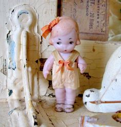 ...vintage bisque doll