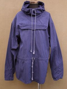 "1930 - 1940's French military ski parka ""navy"" - ヨーロッパ古着店 「Mindbenders」"