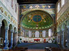 Sant'Apollinare in Classe, Ravenna, Italy - 6th century