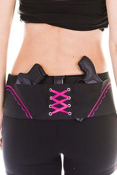 Concealed Carry Hip Holster is better than a belly band