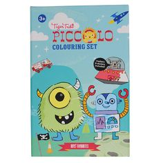 If it moves, zooms, makes a loud noise and is guaranteed to be a hit with little boys then it's been included here in this AWESOME Boys Favourites Colouring Set from the Piccolo range by Tiger Tribe!  These beautifully illustrated colouring sets are jam-packed with activities, coloured markers and stickers. All designed to keep little ones happy while mum and dad take some time out.  Compact and the perfect size to throw in your handbag!