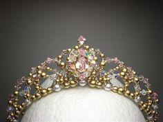 """Rose Princess"" Headpiece"