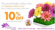 Mother's Day Celebration.......Visit more www.sendflowerstoindia.in