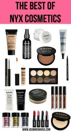 of NYX Cosmetics Last month I did a post where I shared the best of maybelline products. Those products were my holy grails.Last month I did a post where I shared the best of maybelline products. Those products were my holy grails. Best Drugstore Makeup, Makeup 101, Love Makeup, Skin Makeup, Makeup Brushes, Makeup Ideas, Cheap Makeup, Makeup Guide, Revlon Makeup