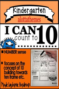 The first step in Math and Number Awareness is learning what the 10 numerals through look like. This hands on low prep activity is a great addition to your math center. Subtraction Kindergarten, Kindergarten Math Activities, Number Activities, Hands On Activities, Motor Activities, Early Childhood Activities, Subitizing, Tally Marks, Number Words