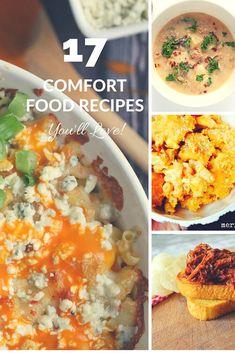 17 Comfort Food Reci