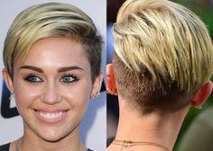 Miley Cyrus' undercut