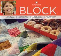 BLOCK Magazine from Missouri Star Quilt Co