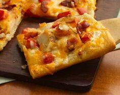 Chicken Bacon Ranch Pizza - Delicious!