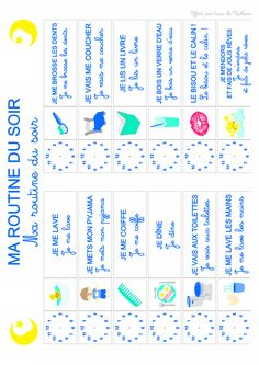 planning routine des enfants et organisation familiale, agenda et planning Kids And Parenting, Parenting Hacks, Montessori, French For Beginners, Terrible Twos, Google Drive, Kids Board, French Lessons, Baby Time