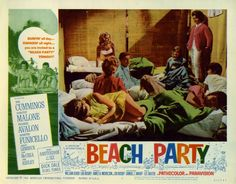 'Beach Party' (1963) lobby card
