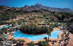 Pointe Hilton at Squaw Peak, Phoenix Arizona.  Love the lazy river and two story casitas