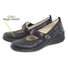 2bce4b32c8f96d Stylish wide fitting premium leather comfort shoes
