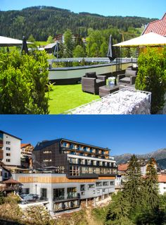 The brand new Alfa Hotel in Serfaus in Tyrol's largest ski area Serfaus-Fiss-Ladis presents itself young and innovative, but with tradition. Enjoy Summer, Design Hotel, Alps, Austria, Traditional, Mansions, Lifestyle, House Styles, Garden