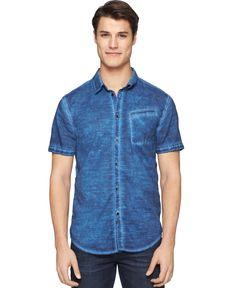 Calvin klein jeans shirt long-sleeve button-down chambray dress