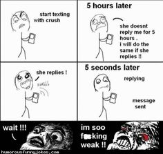 Texting with my crush