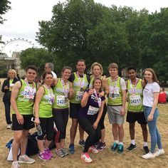 HB Accountants team, running for Teens Unite at the British 10k London Run yesterday.  Find your challenge at http://teensunitefightingcancer.org/what-can-you-do/challenges/