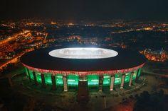 Megmutatták az új Puskás Arénát - képgalériával Sports Stadium, Football Soccer, Basketball, Poker Table, Java, Budapest, Decor, Uruguay, Decoration