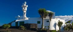 Casa del vulcano, Cèsar Manrique Cn Tower, Statue Of Liberty, Building, Travel, Image, Terra, Design, Inspiration, Home