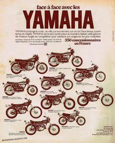Racing Cafè: Vintage Brochures: Yamaha 1973 (France)