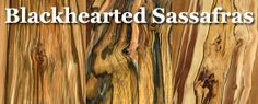 blackhearted sassafras - a gorgeous multi tonal wood!