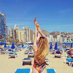 @ava.cristina Can you feel the summer yet ? 🌞🍦🍹 #SummerTime #Already #Benidorm #Spain #Valencia #Sea #Breeze #Travel #Travelholic #DreamJob
