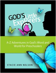 """""""God's Little Explorers"""" is a great Christian preschool curriculum. It combines life skills, music, art, scriptures, and the ABCs at an affordable price."""
