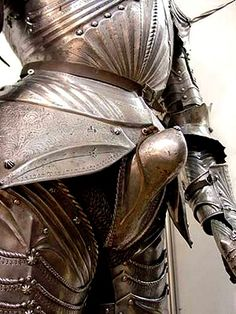 Wonder what this knight is trying to get at. (15th century gothic harness gets this way sometimes.)