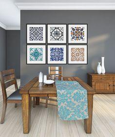 Portuguese Tiles Posters - Poster Art - Modern Art - Traditional Tiles…