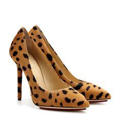 mytheresa.com - Monroe calf hair sling-back pumps - High heel - Pumps - Shoes - Luxury Fashion for Women / Designer clothing, shoes, bags