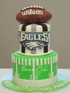 Eagles football cake