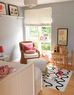 Sky Light Farrow and BAll Girls Can Have The Blues Too - Blue Paint Colors for Girls Room, Ideas for Maria's room